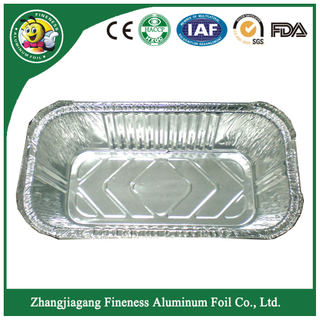 High Quality Customize Aluminum Foil Platter-F4527
