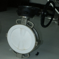 wafer type Full FPA /F46/ PTFE lined butterfly valve