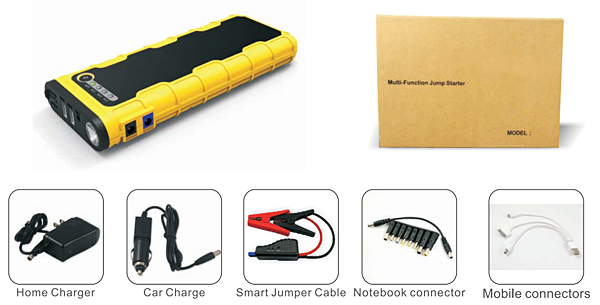 car battery jump starter JS-EP82 accessories