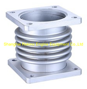 6L250-10-100F2 Expansion joint with bellows Zichai engine parts L250 LB250 LC250