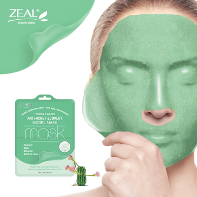 Propolis Cactus Anti-Acne Recovery Model Facial Mask