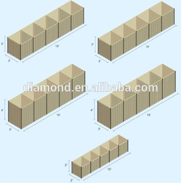 HESCO Blast Wall/Container