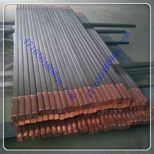 top quality TI clad copper composite drum shape rod for electroplating industry