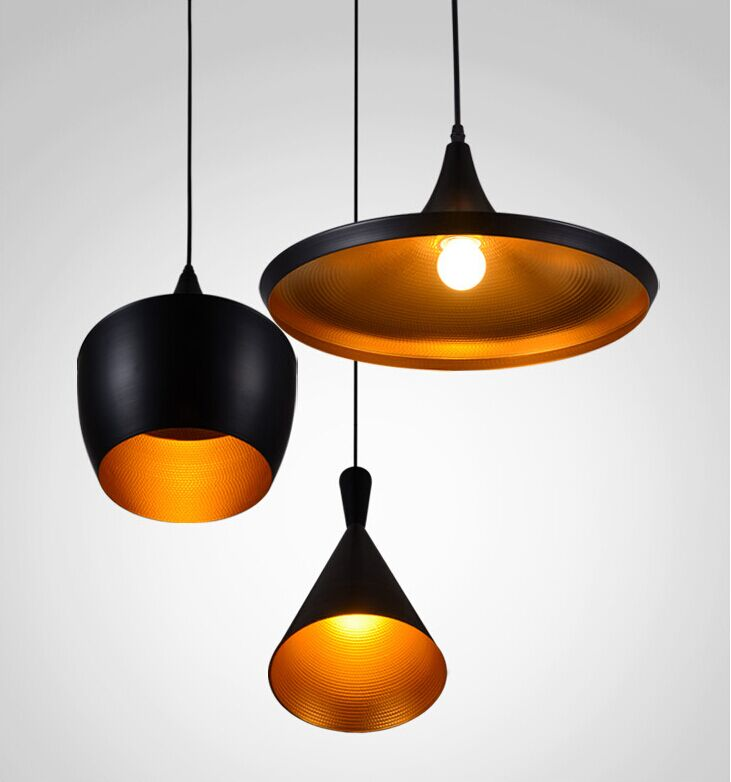 modern tom dixon beat pendant light aluminum suspension lighting. Black Bedroom Furniture Sets. Home Design Ideas