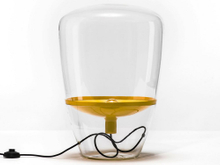 Modern glass designer table lamp