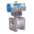 Q641F-ZL pneumatic ball valve