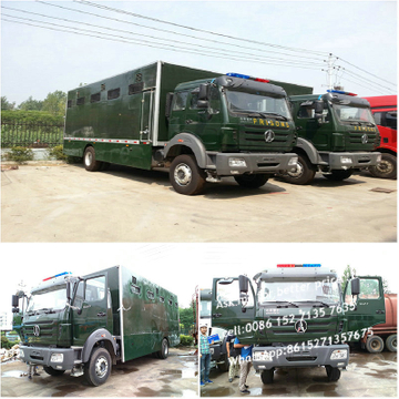 Beiben truck Customizing 1627 Prisons carriers
