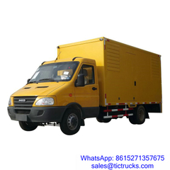 IVECO 70kW 50hz 3 phase 220V mobile generator truck