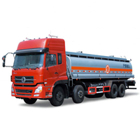 30000L 340HP Fuel Delivery Truck 8x4 for sale Euro 4,5