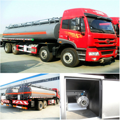 FAW 30cbm chemical liquid tank truck