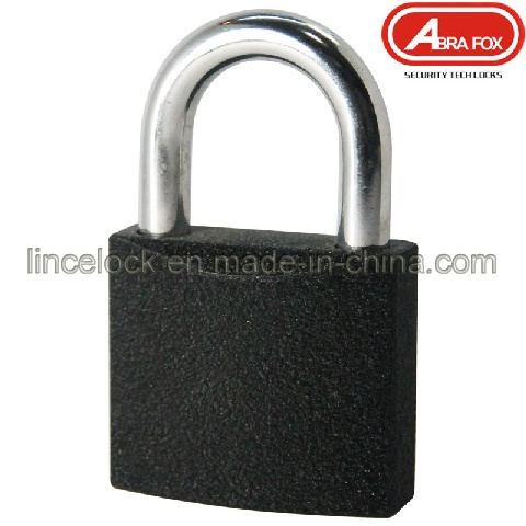 Cast Iron Black Padlock (303)