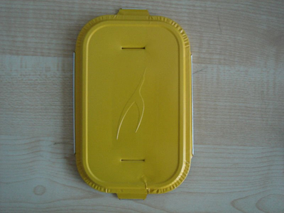 Aviation Meal Box (Kuwait airline)