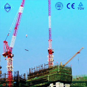 FL30/30 Chinese Manufactured Luffing Jib Tower Crane