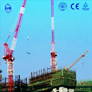 HL45/28 Chinese Manufactured Luffing Jib Tower Crane