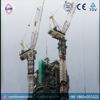 FL25/30 Chinese Manufactured Luffing Jib Tower Crane