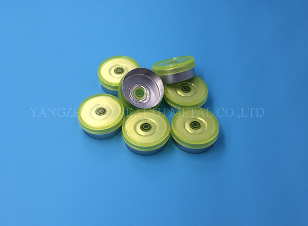20mm Transparent Flip Off Cap