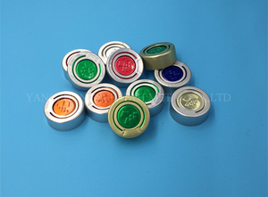 20mm Aluminum Tear Off Cap with Logo