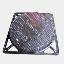 Clear opening 600MM Diameter B125 Round Manhole Cover