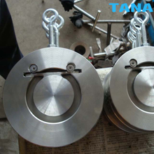 Thin type wafer Single disc swing check valve