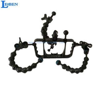 Leoben Alu Underwater Handle Grip Tray for Gopro Housings