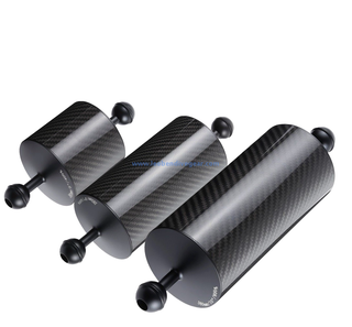 Underwater 80MM Dia Carbon Fiber Buoyancy Float Arms