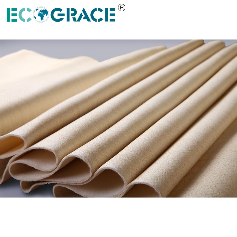 Hot Gas Filtration Filter Bags Nomex Cloth
