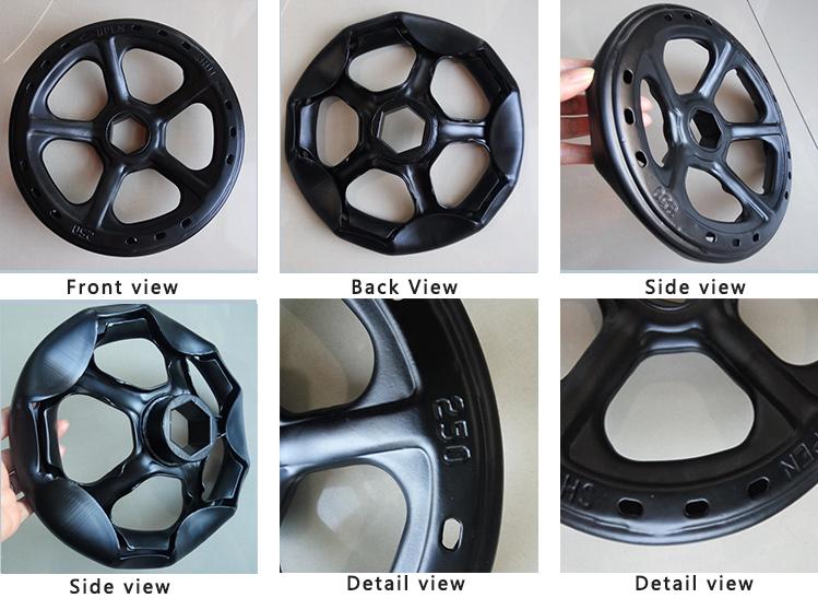 new handwheel detail