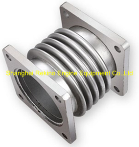 6L250-10-100F3 Expansion joint with bellows Zichai engine parts L250 LB250 LC250