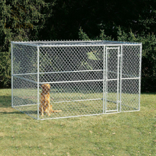 6'H x 10'W x 10'L Outdoor Large Metal Dog Playpen Chain Link Wire Dog Kennels