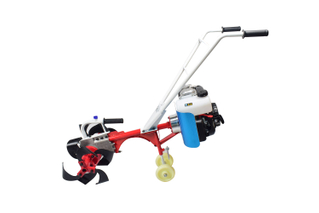 aluminum alloy frame 4.0kw / 3600 212cc Loose soil, weeding and furrows mini tiller