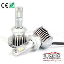 super mini P12 45W 6500lm D1 D2 D3 D4 universal car led headlight with built-in fan( 100% suitable for all cars)