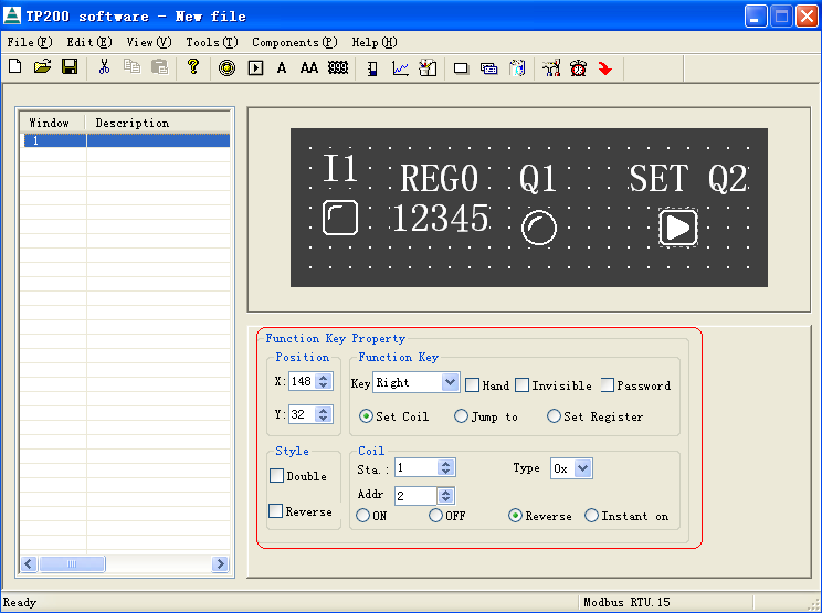 how to read a modbus register in logix 5000