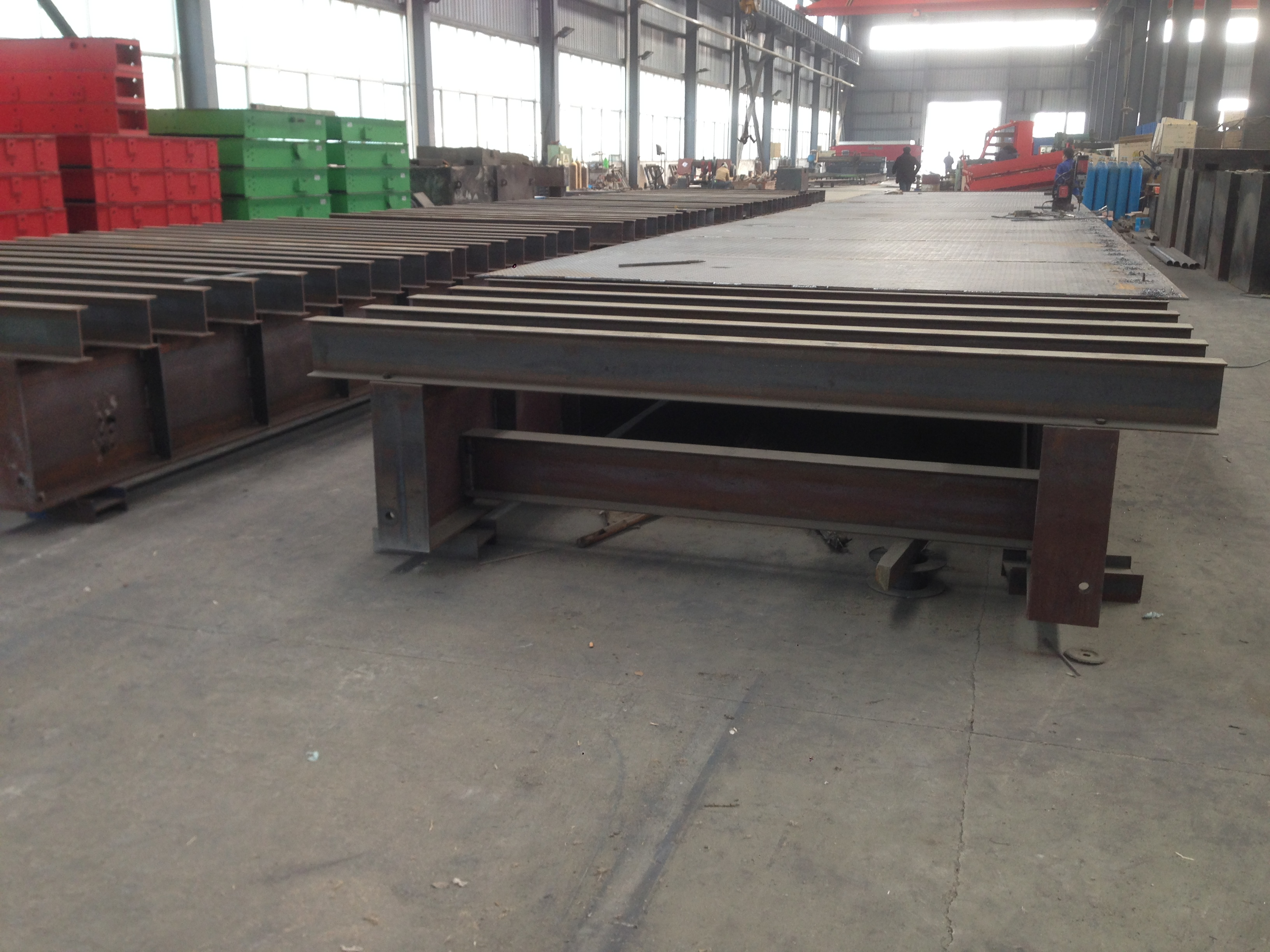 KYLOWEIGH Weighbridge-Pit type I beam structured-KW-WB-IBM0001