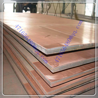 professional 316L stainless steel clad copper composite sheet for Electric chemical industry suppiler