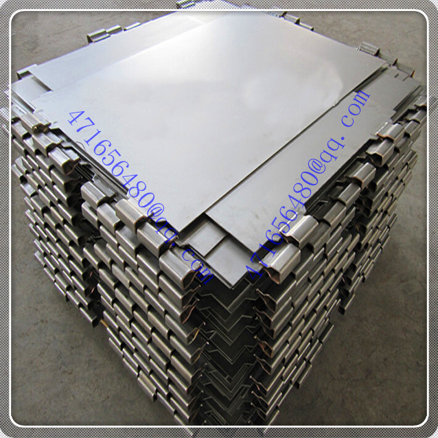 TI clad copper welded composite mother sheet for Gold, copper & nickel mining industry