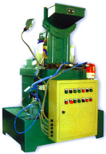 High speed nut tapping machine from Crystal