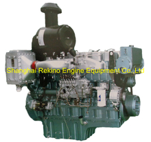 380HP 1200RPM Yuchai marine propulsion diesel boat main engine (YC6T380C)