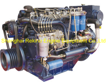 163HP 2300RPM Weichai Deutz marine propulsion boat diesel engine (WP6C163-23)