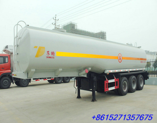 DTA9407GHY Chemical acid tank trailer for 30% HCL