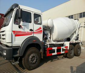 Beiben 2635 Mixer trucks Hino engine 6x6 off road <Custom LHD RHD>