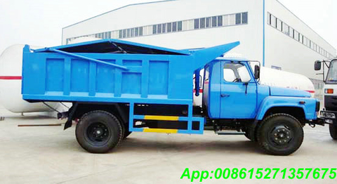 Refuse Sealed garbage tipper truck with 8~10M3 LHD /RHD