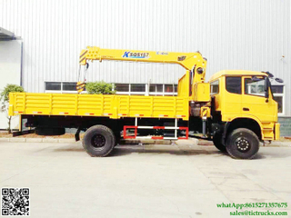 Dongfeng 4x4 offroad 6ton crane truck