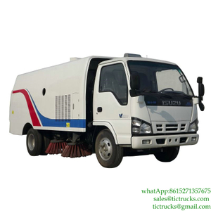 4.3m3 98HP Road Cleaner Truck ISUZU for sale