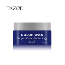 Tazol Temporary Hair Color Wax with Blue Color 100g