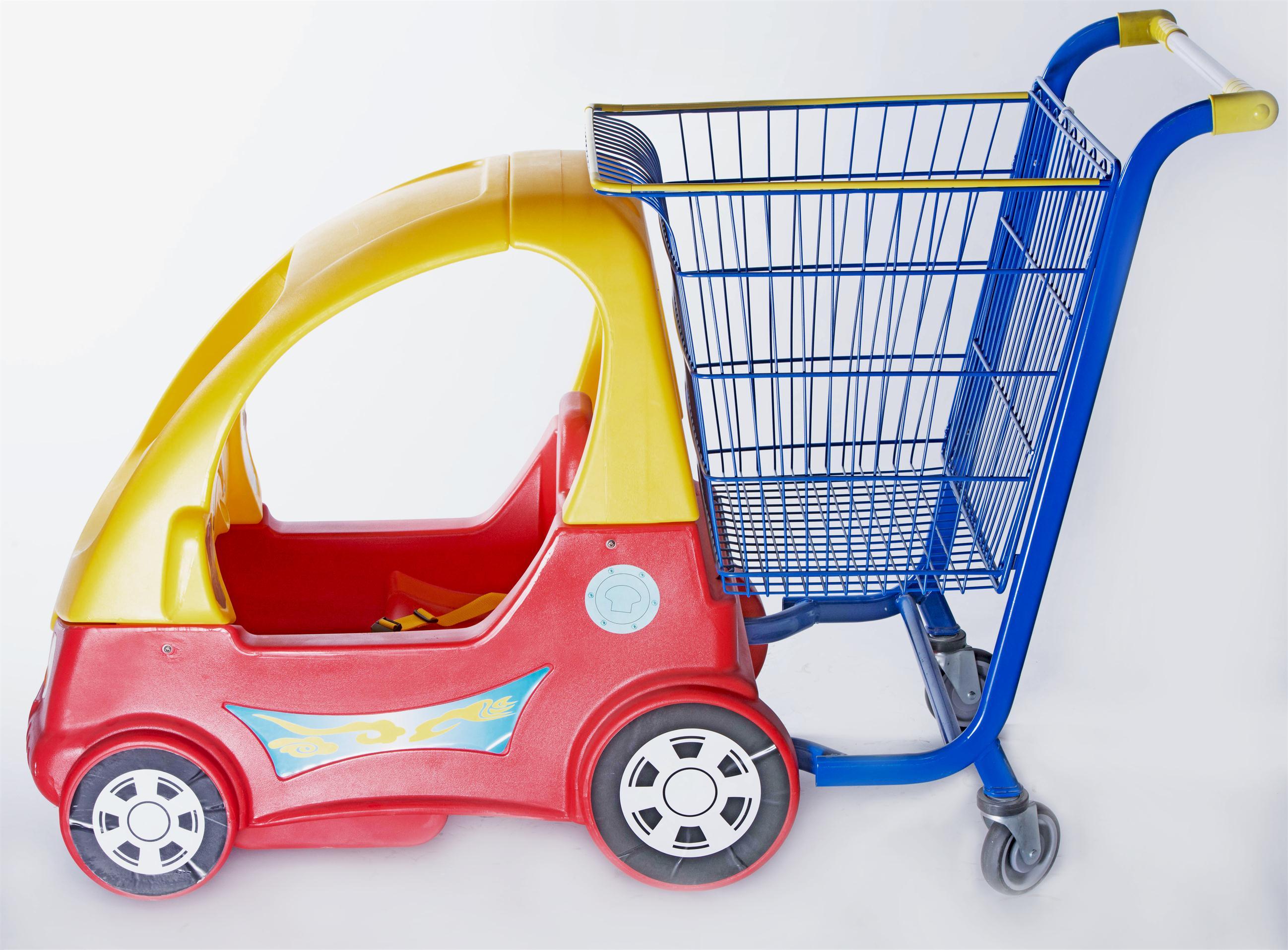 YRD-E4 Kid Shopping Trolley1