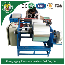 Newest Antique Hotel Aluminum Foil Rewinding Machine