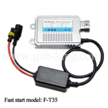 Hot selling 9V-16V DC 35W super slim fast start HID ballast