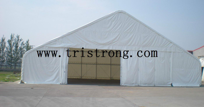 20m Wide Trussed Frame Shelter, Super Strong Tent, Workshop (TSU-6549)