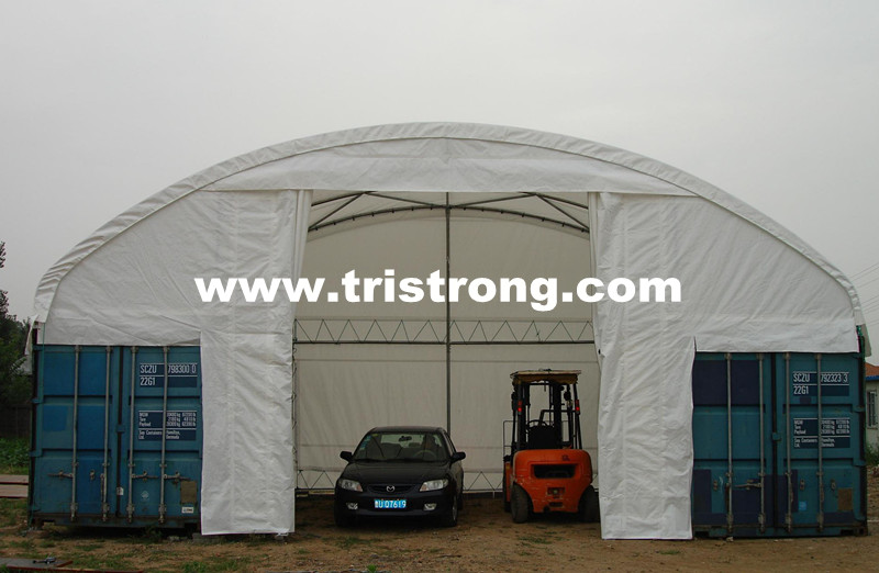 Container Shelter, Container Tent, Container Cover, Container Roof, Container Canopy (TSU-3620C/3640C)