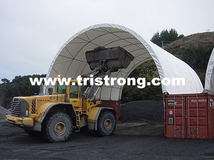 Container Shelter, Canopy, Container Roof, Super 40' Container Canopy (TSU-3340C)